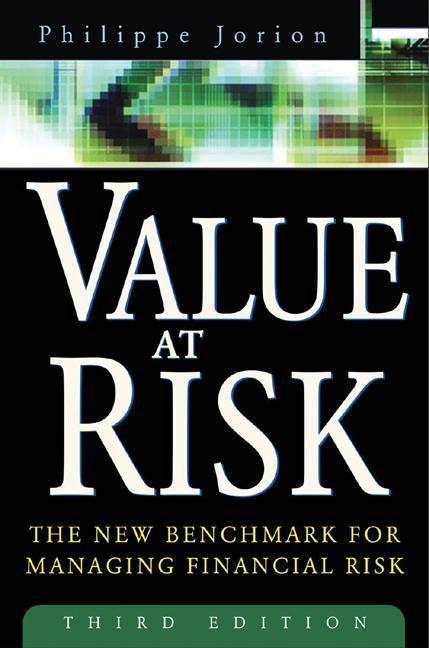 Value at Risk, 3rd Ed. als Buch