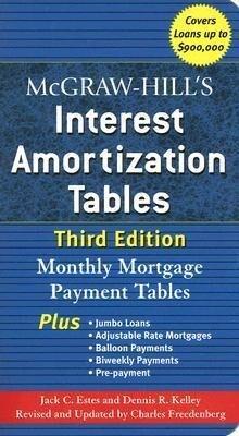 McGraw-Hill's Interest Amortization Tables, Third Edition als Taschenbuch