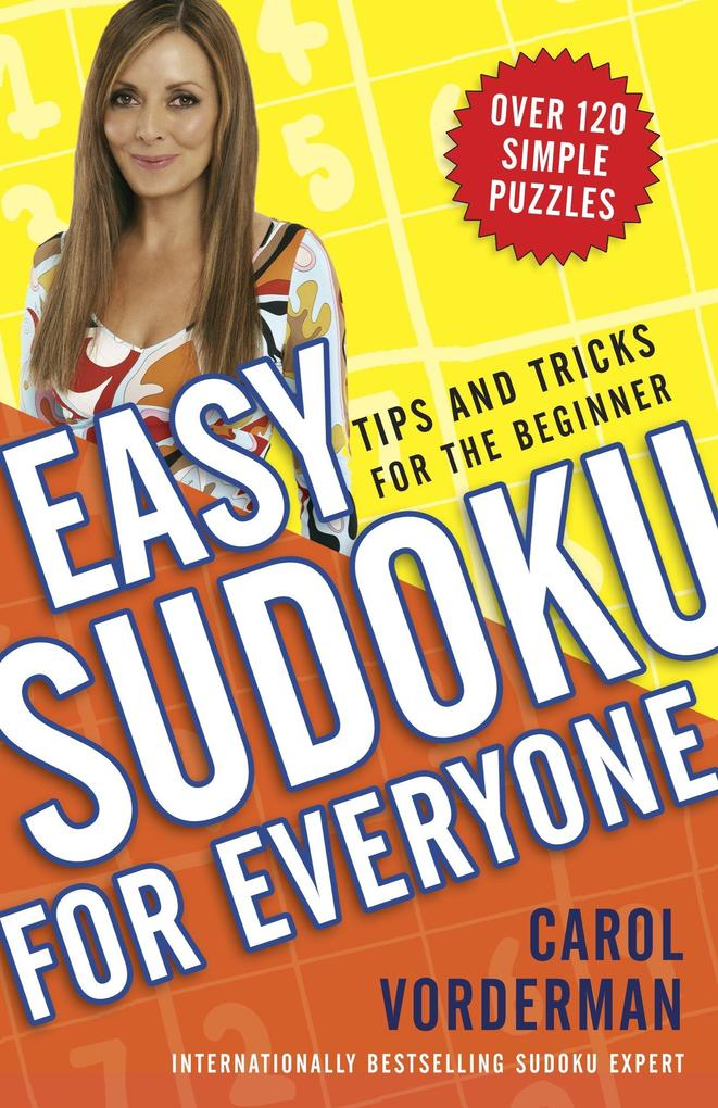 Easy Sudoku for Everyone: Tips and Tricks for the Beginner als Taschenbuch