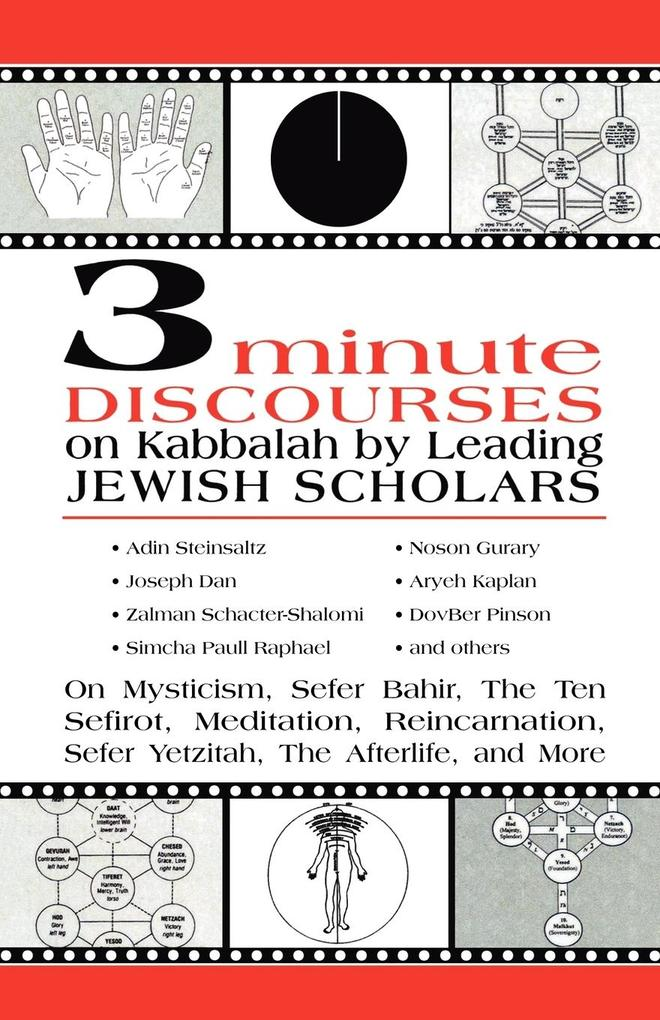 3 Minute Discourses on Kabbalah by Leading Jewish Scholars als Taschenbuch