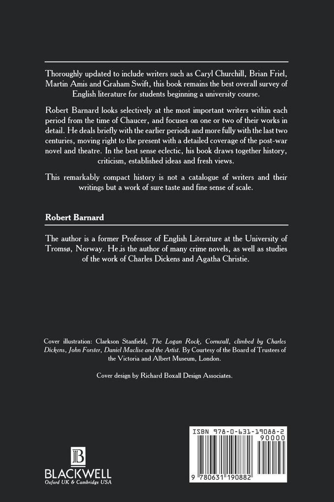A Short History of English Literature als Buch