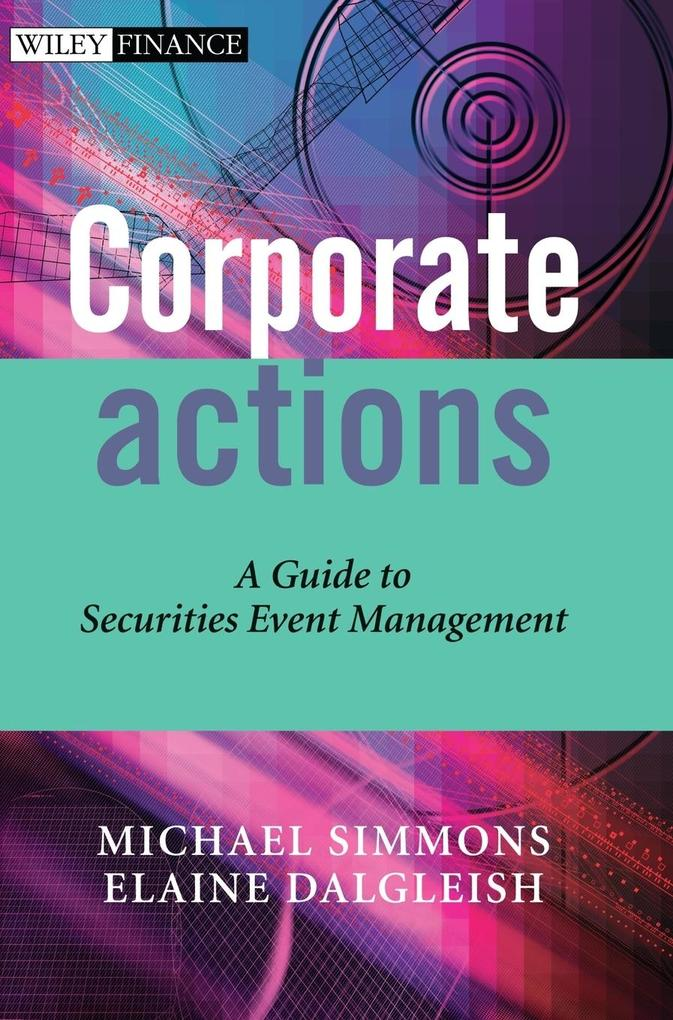 Corporate Actions als Buch