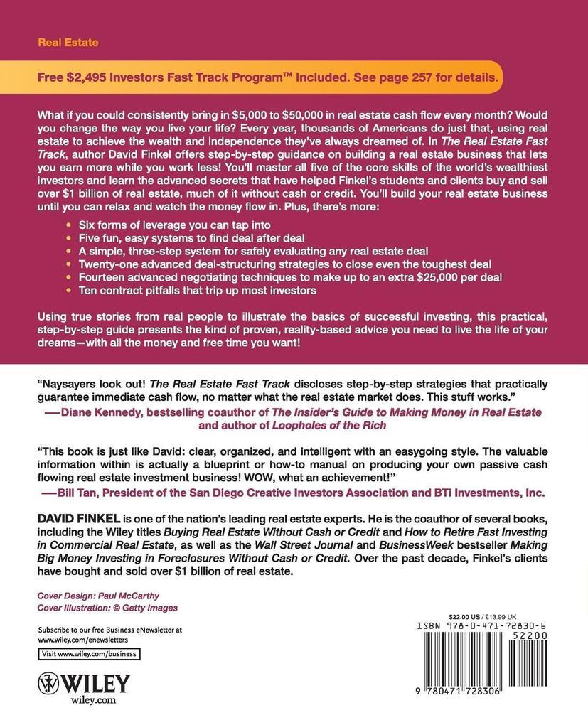 Real Estate Fast Track als Taschenbuch