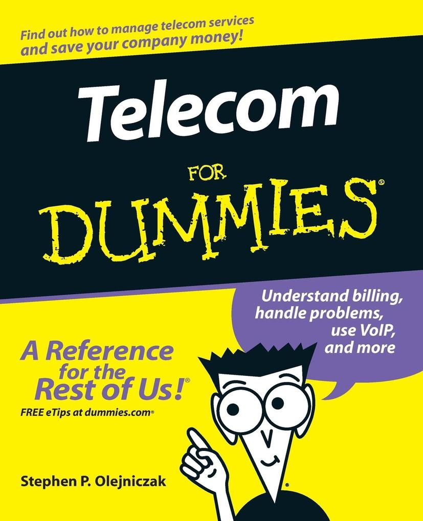 Telecom for Dummies als Buch