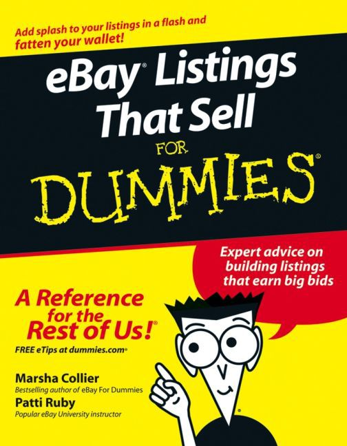 Ebay Listings That Sell for Dummies als Taschenbuch