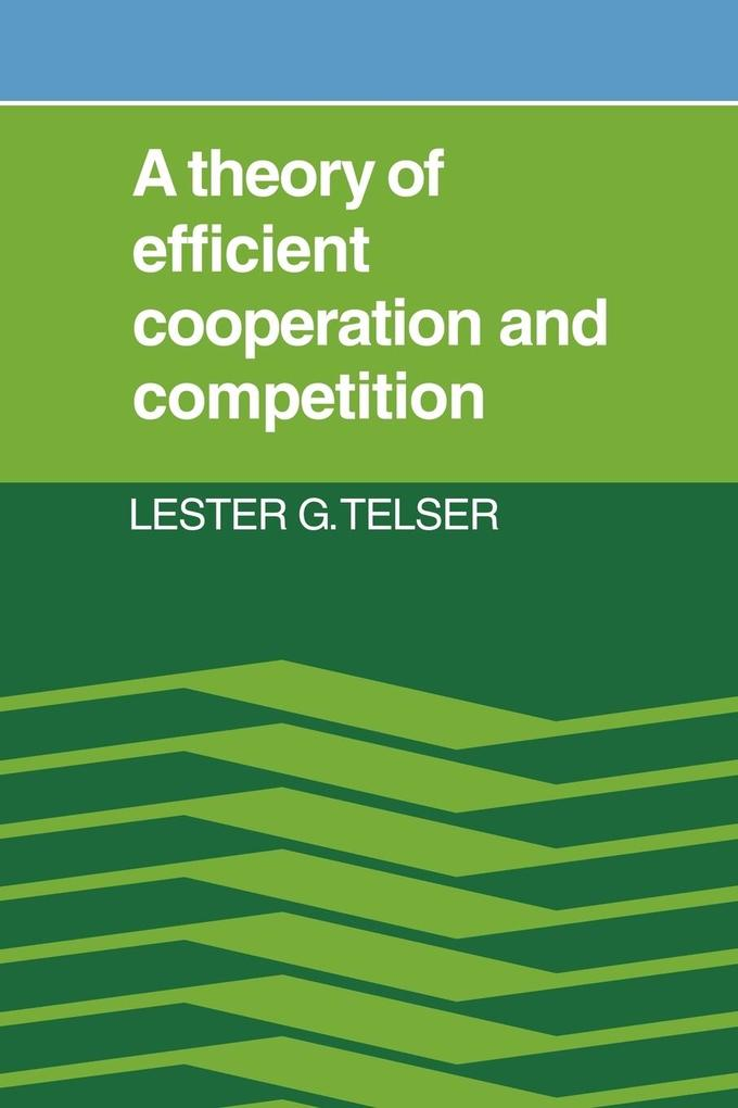 A Theory of Efficient Cooperation and Competition als Taschenbuch