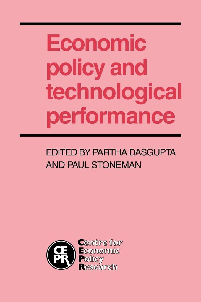 Economic Policy and Technological Performance als Buch