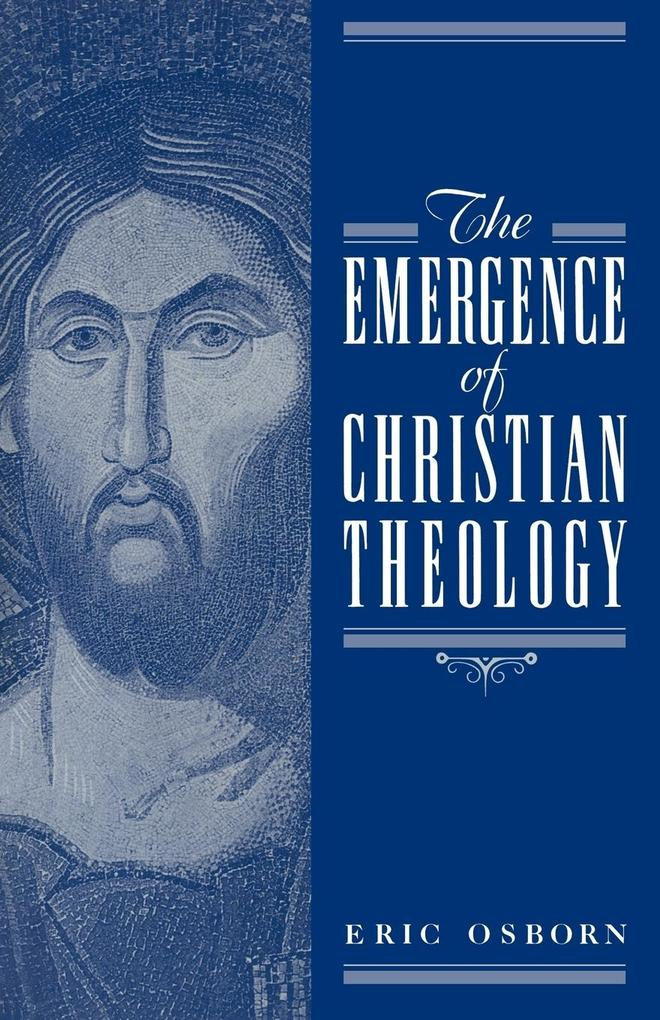 The Emergence of Christian Theology als Buch