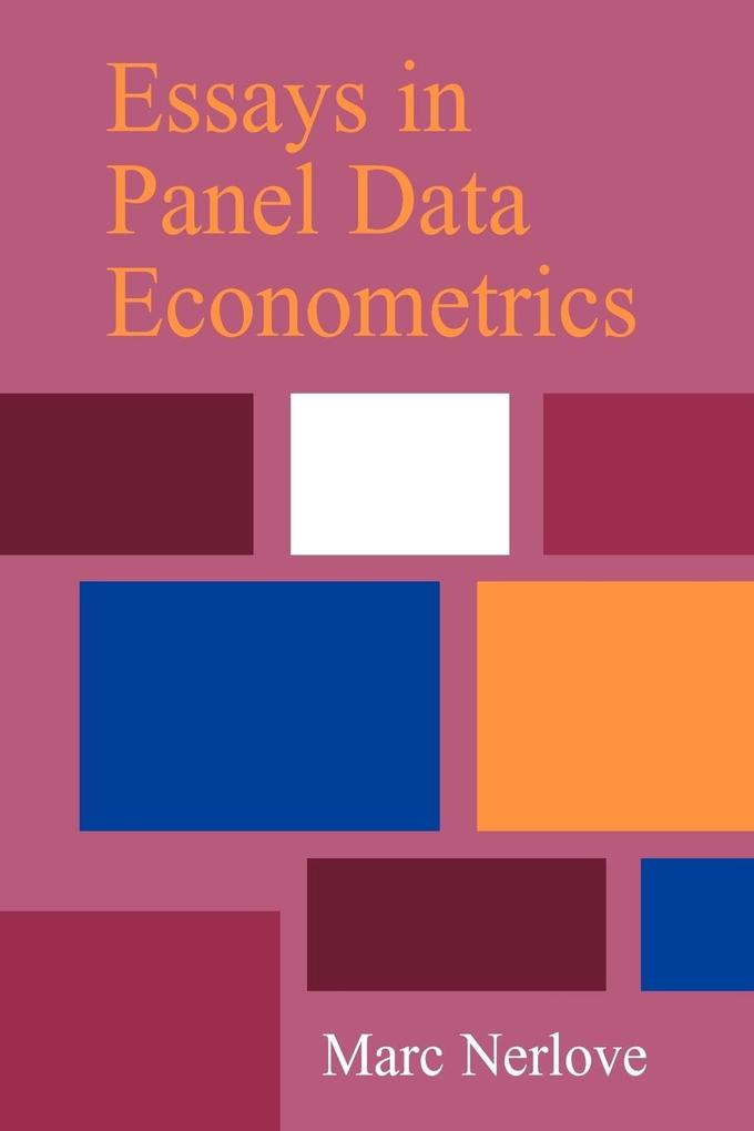 Essays in Panel Data Econometrics als Buch