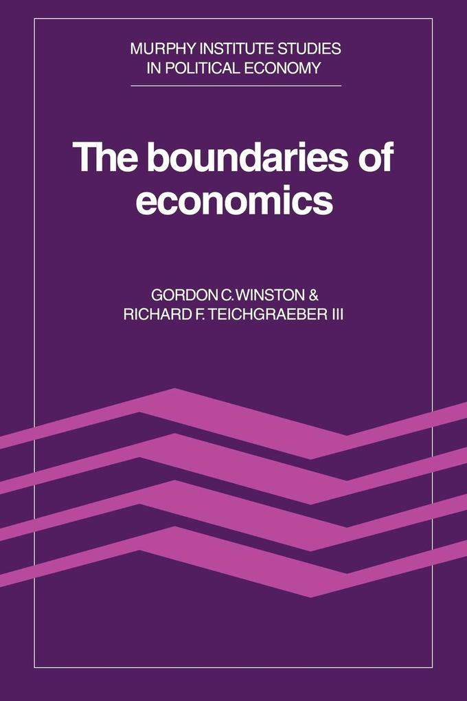The Boundaries of Economics als Buch