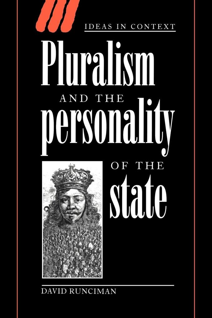 Pluralism and the Personality of the State als Buch