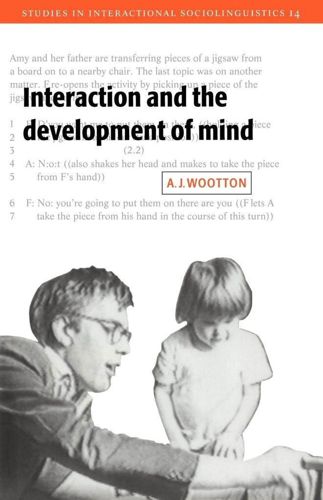 Interaction and the Development of Mind als Buch