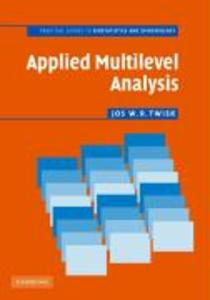 Applied Multilevel Analysis als Buch