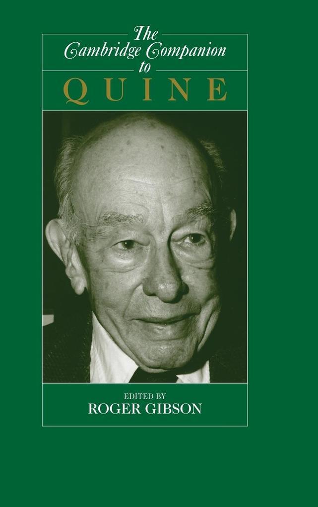 The Cambridge Companion to Quine als Buch