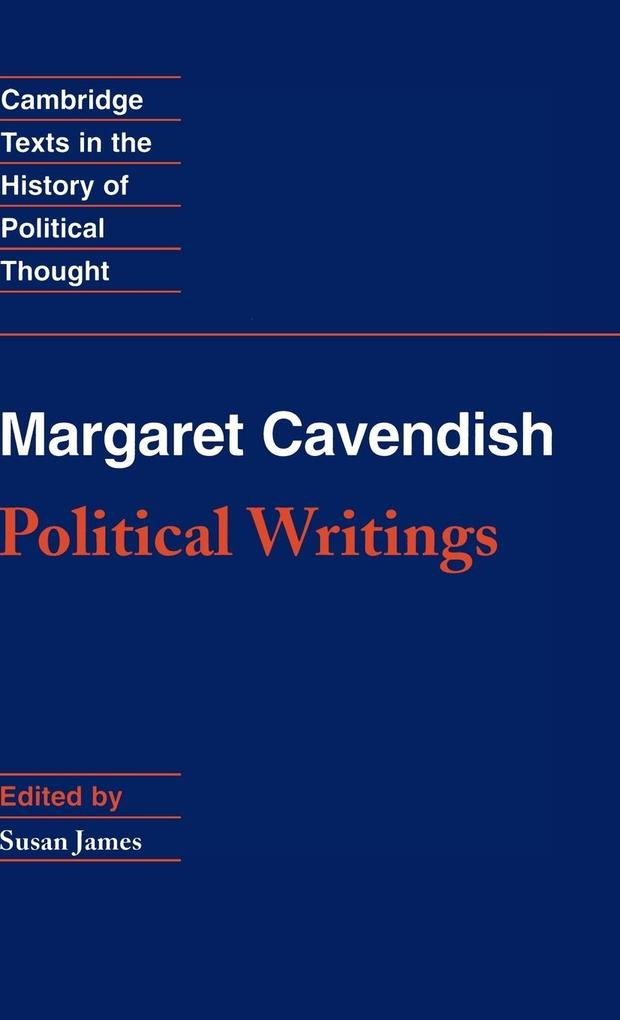 Margaret Cavendish: Political Writings als Buch