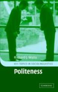 Politeness als Buch