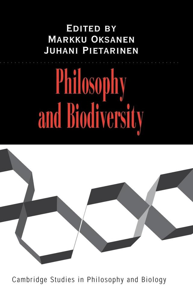 Philosophy and Biodiversity als Buch