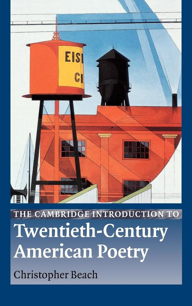 The Cambridge Introduction to Twentieth-Century American Poetry als Buch
