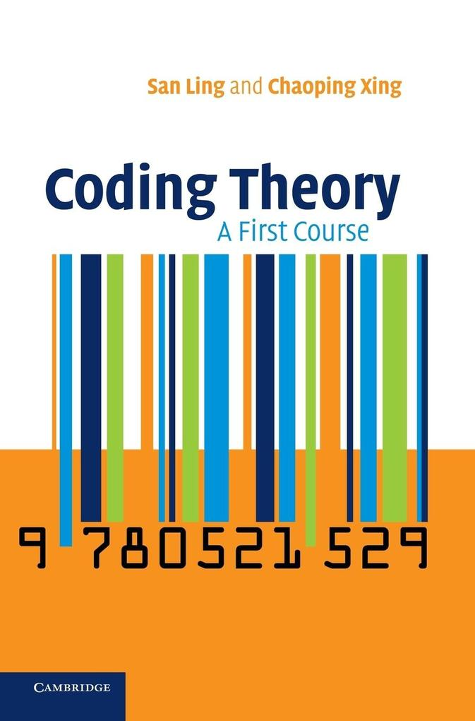 Coding Theory: A First Course als Buch