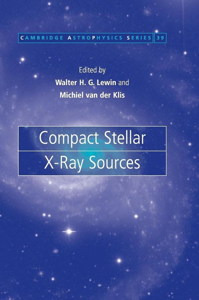 Compact Stellar X-Ray Sources als Buch