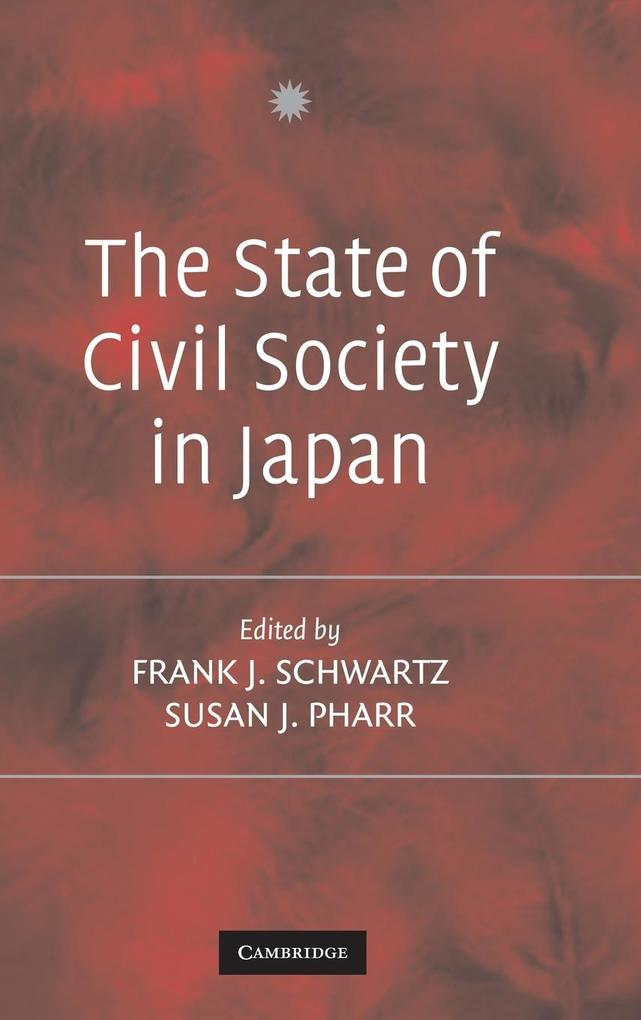 The State of Civil Society in Japan als Buch