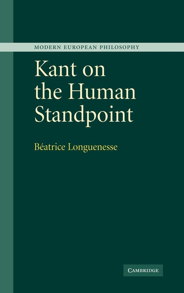 Kant on the Human Standpoint als Buch