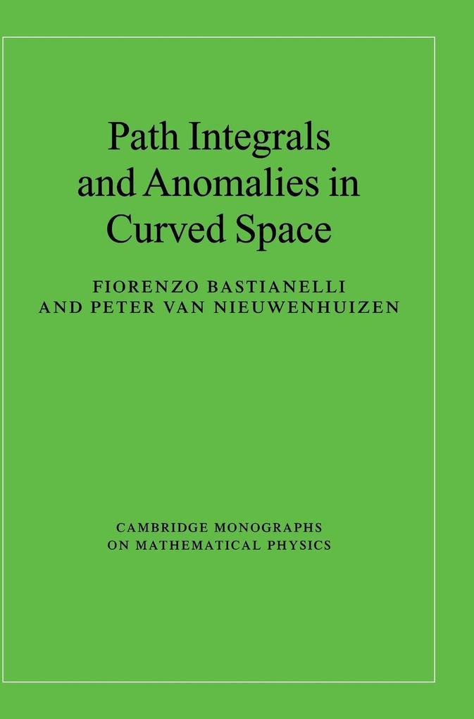 Path Integrals and Anomalies in Curved Space als Buch