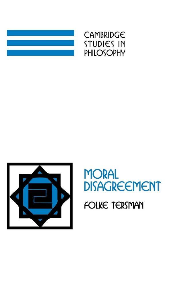 Moral Disagreement als Buch