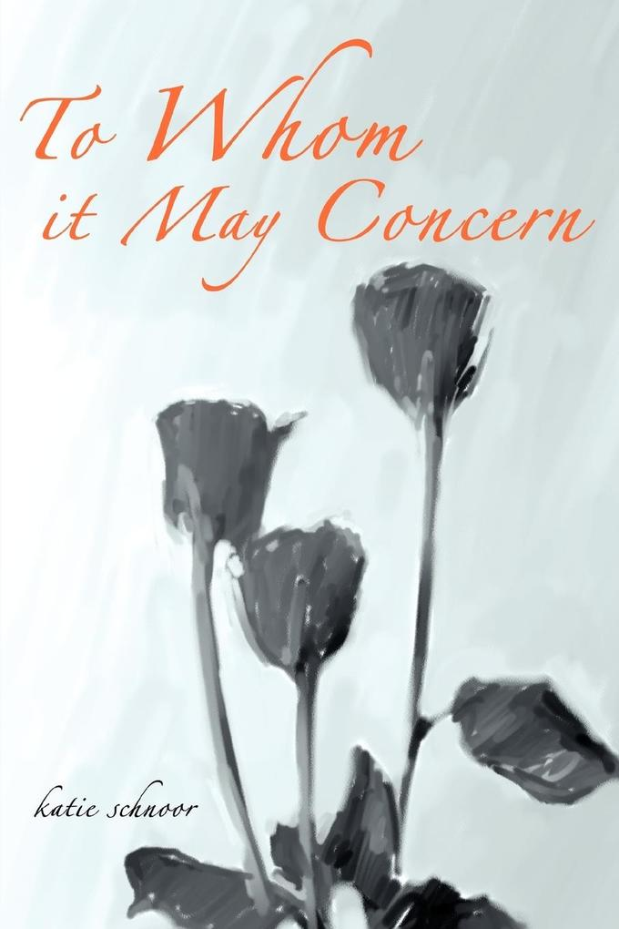 To Whom it May Concern als Taschenbuch