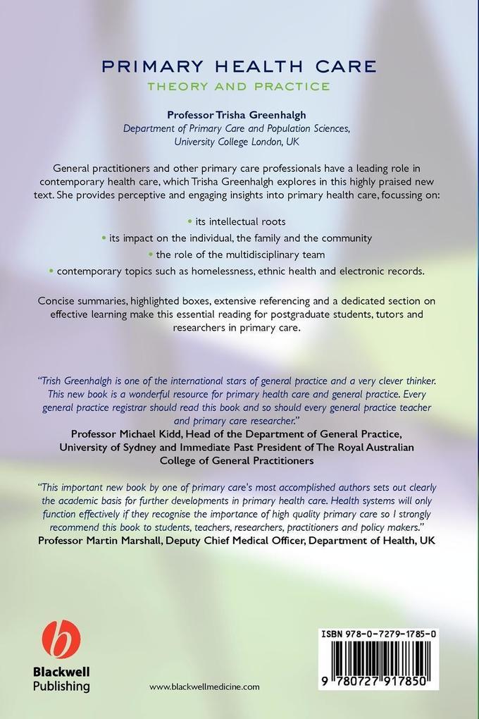 Primary Health Care als Taschenbuch