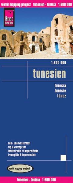 Reise Know-How Landkarte Tunesien (1:600.000) mit Djerba (1:300.000) als Buch