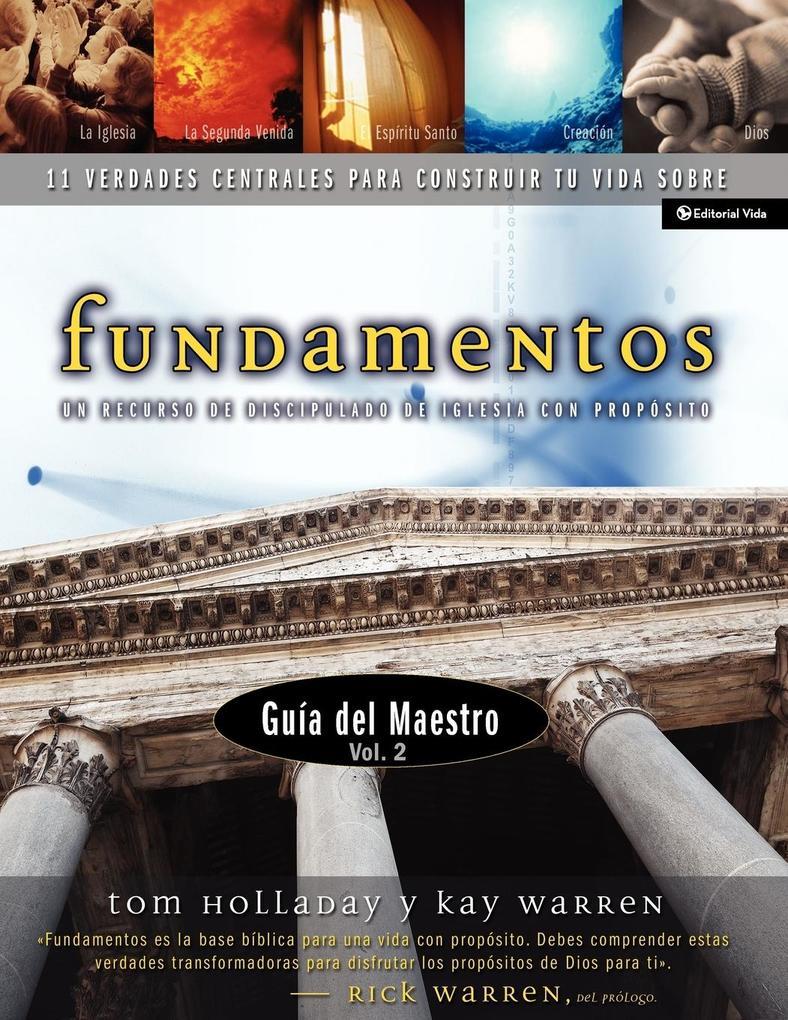 Fundamentos - Gu a del Maestro Vol. 2 als Taschenbuch