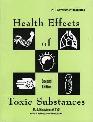 Health Effects of Toxic Substances als Taschenbuch