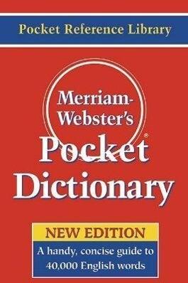 Merriam-Webster's Pocket Dictionary als Taschenbuch