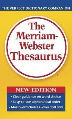 The Merriam-Webster Thesaurus als Taschenbuch