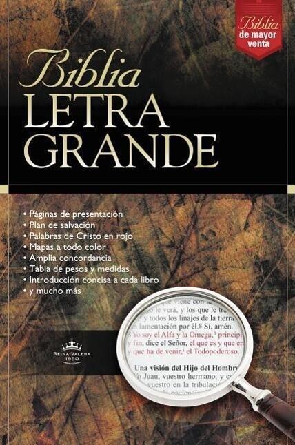 Biblia Letra Grande-RV 1960 als Buch