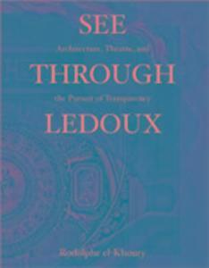 Claude Nicolas Ledoux als Buch