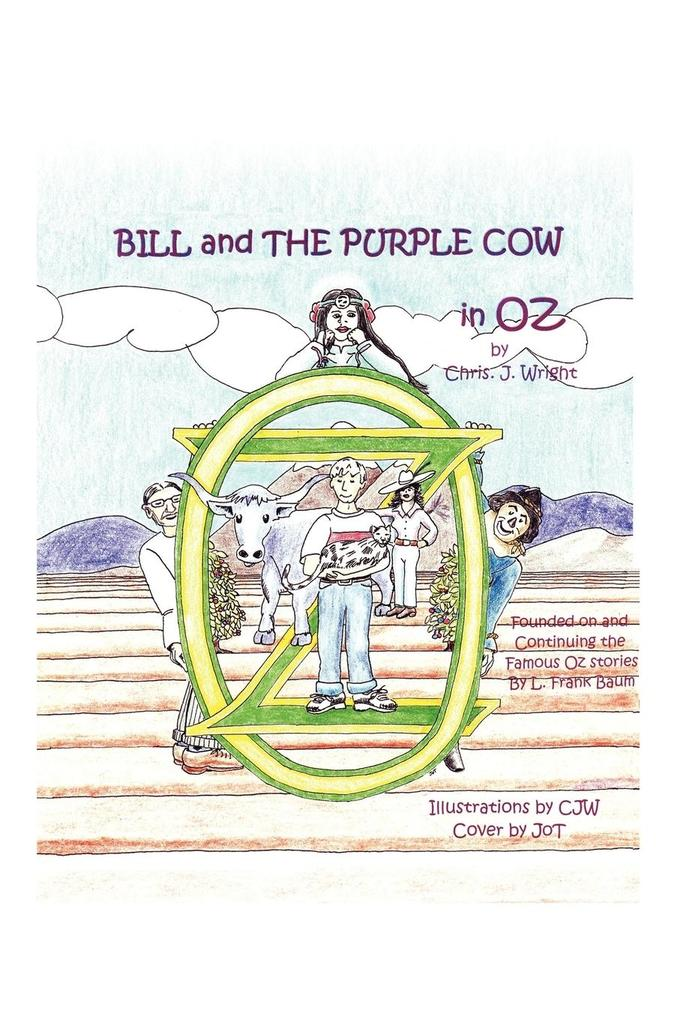 Bill and The Purple Cow in Oz als Taschenbuch