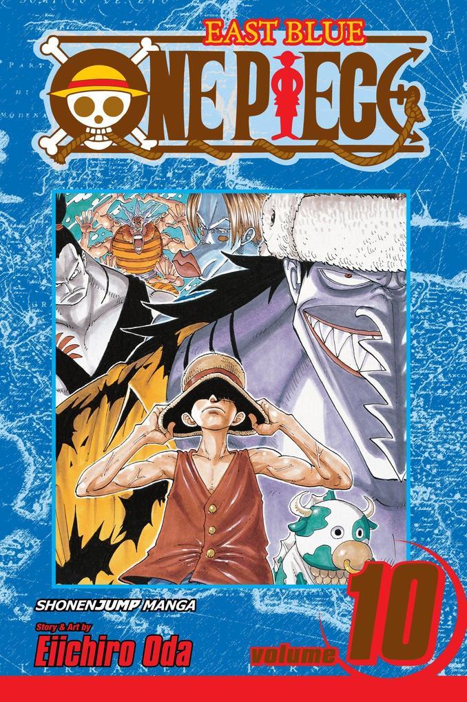 One Piece, Vol. 10 als Taschenbuch
