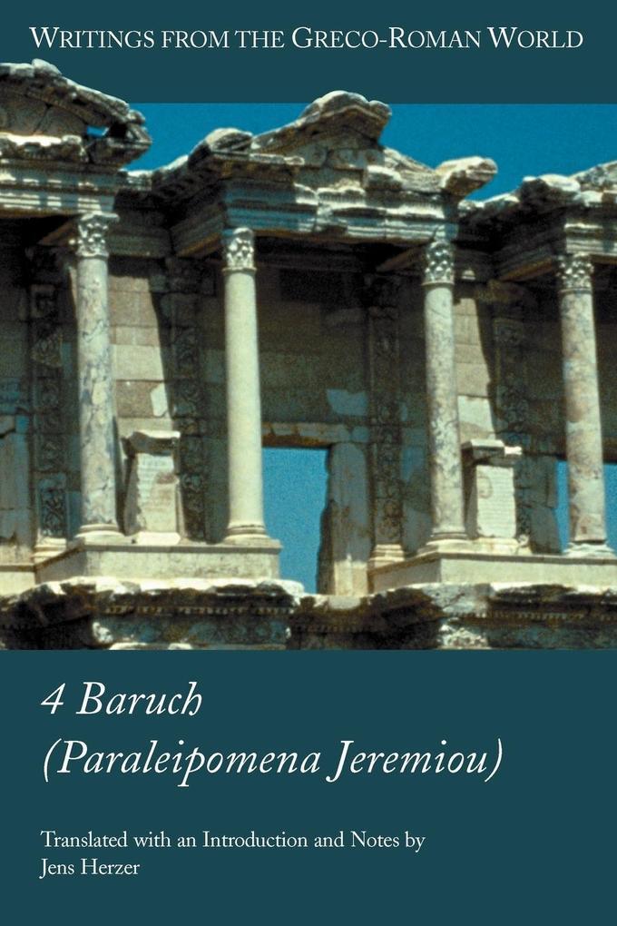 4 Baruch (Paraleipomena Jeremiou als Taschenbuch