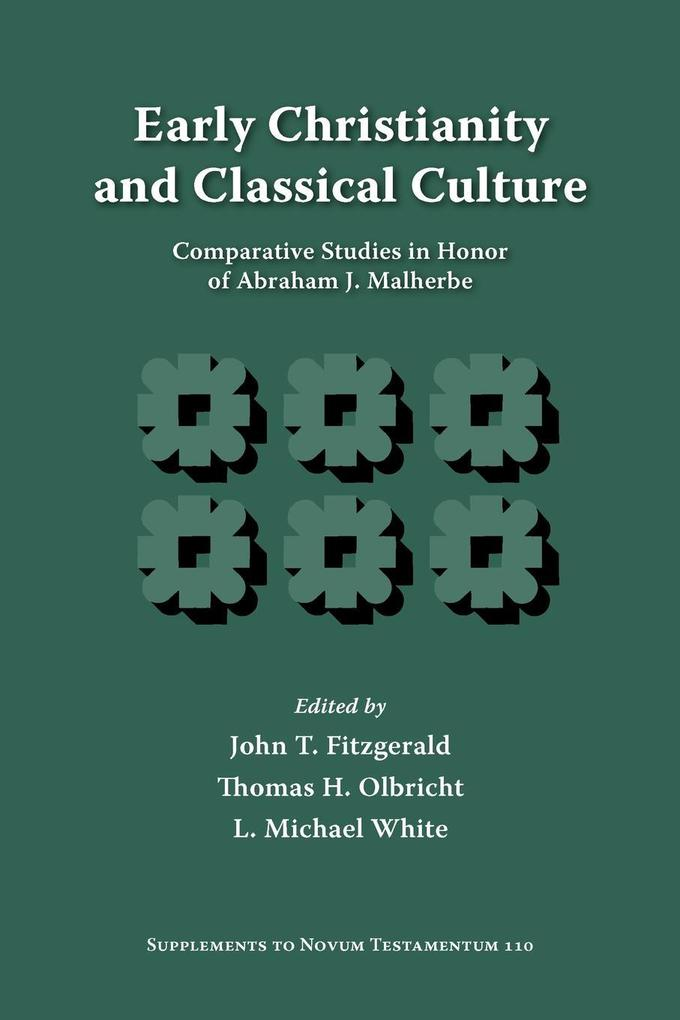 Early Christianity and Classical Culture als Taschenbuch