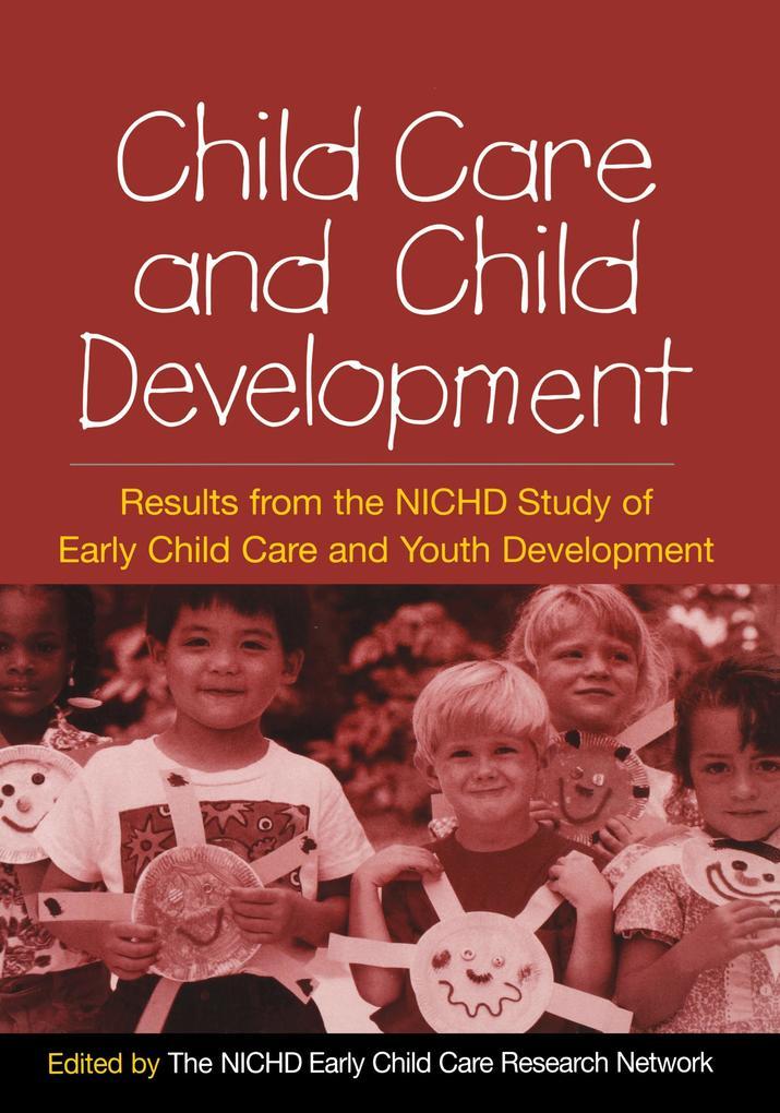 Child Care and Child Development als Taschenbuch