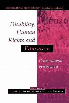 Disability, Human Rights and Education als Taschenbuch