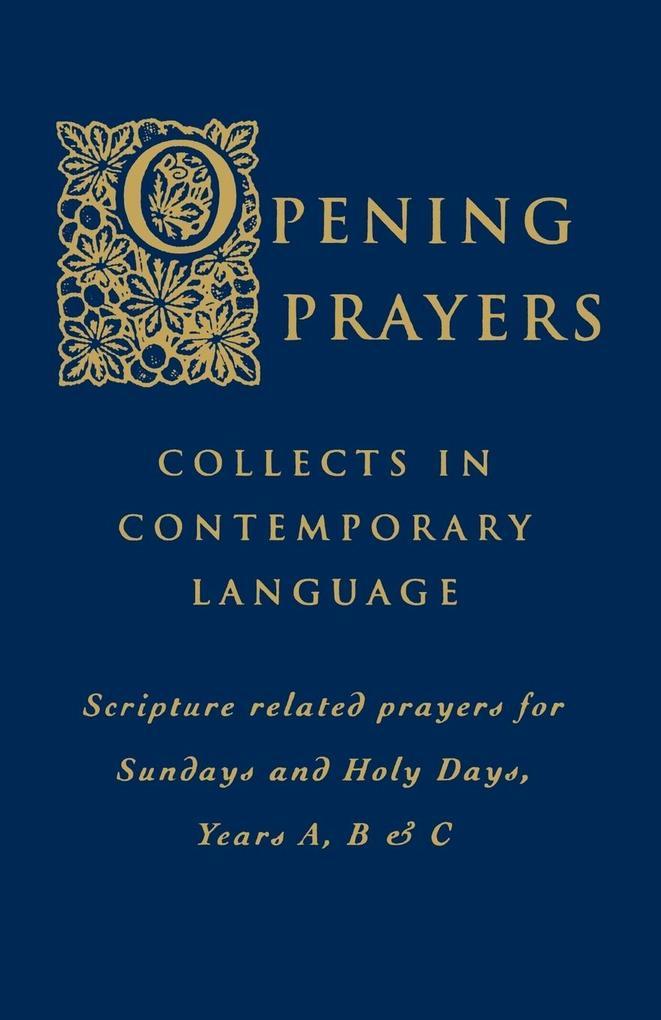 Opening Prayers als Buch