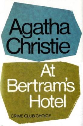 At Bertram's Hotel als Buch