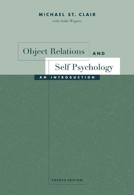 Object Relations and Self Psychology als Taschenbuch