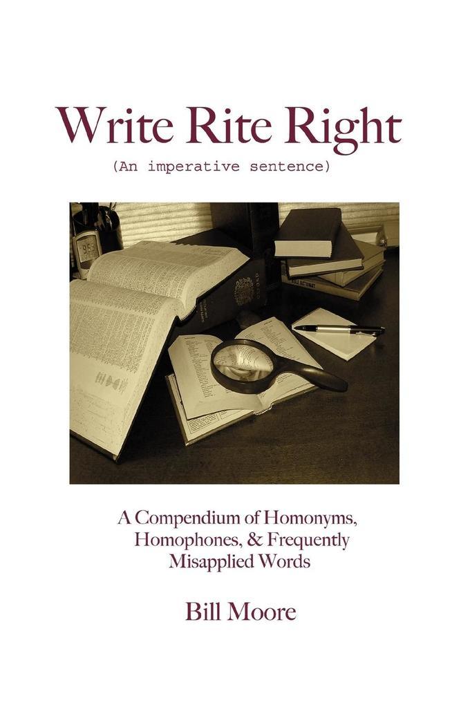 Write Rite Right als Taschenbuch
