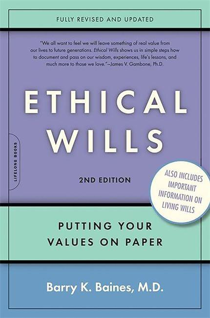 Ethical Wills: Putting Your Values on Paper als Taschenbuch
