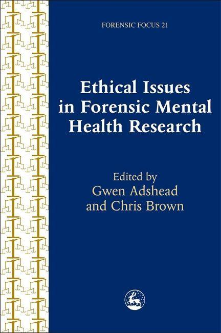 Ethical Issues in Forensic Mental Health Research als Taschenbuch