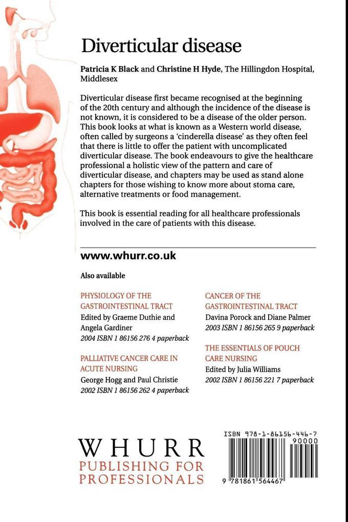 Diverticular Disease als Taschenbuch